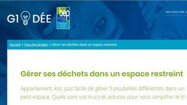 G1idee.be la nouvelle plateforme collaborative du BEP pour échanger les idées entre namurois