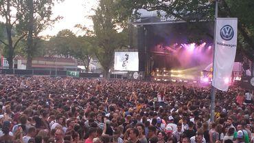 """Les Ardentes ont fait """"scènes combles"""" avec près de 100.000 festivaliers"""