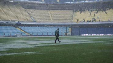La finale aller de la Copa Libertadores reportée à dimanche en raison de la pluie