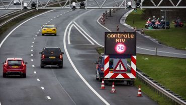 Contrôle à la frontière entre l'Allemagne et les Pays-Bas