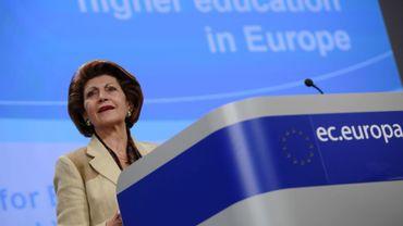 La commissaire européenne chargée de l'Education et de la Culture, Androulla Vassiliou