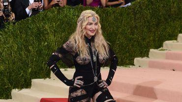 Madonna n'a pas sorti d'album depuis 2015 - © TIMOTHY A. CLARY / AFP