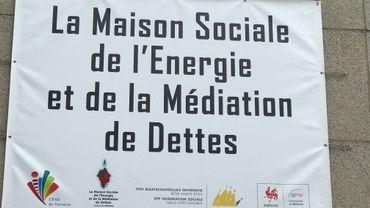 La Maison sociale de l'Energie et de la Médiation de dette est implantée rue de Pepinster, à Verviers