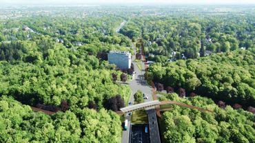 Un pont pour les vélos au-dessus des Quatre Bras. Mais aussi une avenue de Tervueren réservée en partie aux deux-roues.