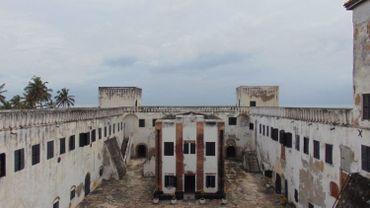 Le fort de Cape Coast, point central du commerce triangulaire pendant des siècles.