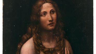 """""""La Madeleine pénitente"""", tableau de Salaì, plus proche collaborateur de Léonard De Vinci, a été adjugé mercredi à 1,7 million d'euros."""
