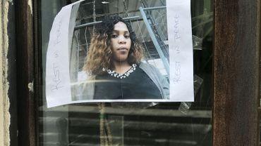 Eunice, poignardée à mort en juin 2018 à Schaerbeek