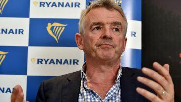 Le PDG de Ryanair, Michael O'Leary, pourrait perdre son sourire légendaire.