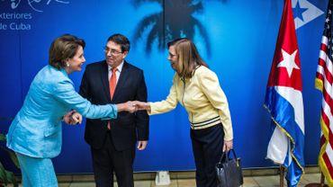 Cuba: le dialogue avec les Etats-Unis se poursuit