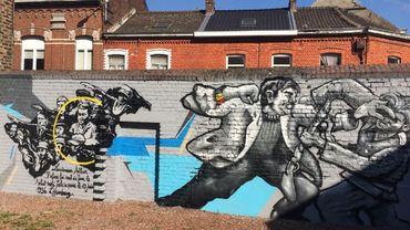 La fresque réalisée en 2016