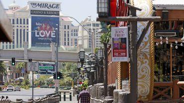 Las Vegas a rouvert les portes de ses célèbres casinos jeudi après onze semaines de fermeture imposées par la pandémie de coronavirus