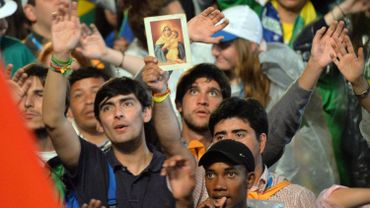 Ouverture des Journées mondiales de la jeunesse catholique à Rio