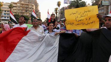 Manifestation au Caire le 15/07/2011
