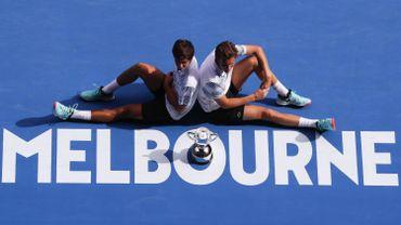 Mahut et Herbert titrés à l'Open d'Australie, les quatre Grand Chelem à leur palmarès