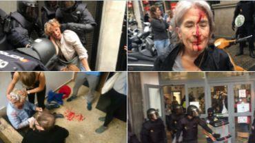 Référendum en Catalogne: plus de 300 personnes blessées par des violences policières, selon le gouvernement catalan