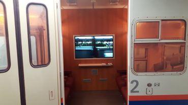 En janvier prochain, 3 patients atteints de la maladie d'Alzheimer expérimenteront la thérapie du voyage via ce train virtuel.