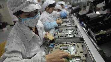 Une usine Foxconn en Chine