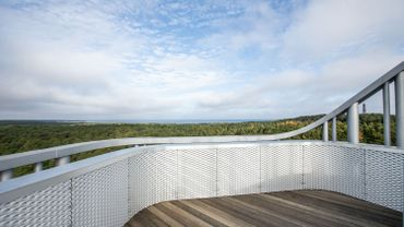 Ouverture du centre Arvo Pärt que l'Estonie a offert à son célèbre compositeur, et que l'architecte espagnol Enrique Sobejano dit inspirée par sa musique minimaliste