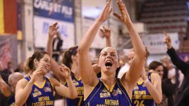 Basket: Braine gagne son 100e match de championnat consécutif et rejoint Willebroek en finale