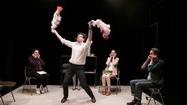 Les petits humains, au Théâtre de la Vie