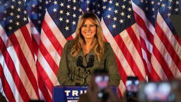 Melania Trump à  Atglen, dans l'Etat-clé de Pennsylvanie