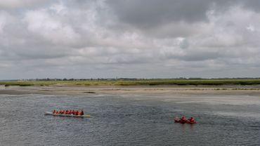 La sortie en kayak est une activité prisée en baie de Somme