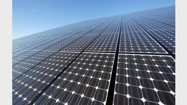 Un parc photovoltaïque