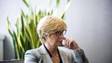 La ministre de la Défense italienne, Roberta Pinotti.