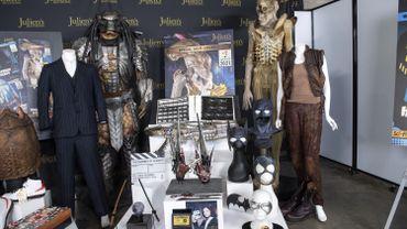 Le prototype d'Alien, le costume de Scarface et la baguette d'Harry Potter aux enchères