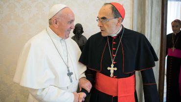 Le pape François a refusé la démission du cardinal Barbarin