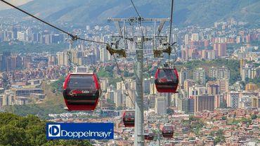 La ville de La Paz, en Bolivie, s'est dotée d'un réseau de six lignes de téléphérique.