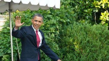 Le président américain Barack Obama le 6 juillet 2012 à Washington