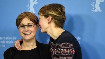 La réalisatrice italienne Laura Bispuri et l'actrice italienne Alba Rohrwacher