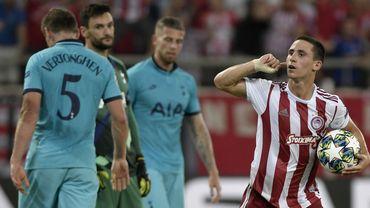 Tottenham gaspille un avantage de deux buts à l'Olympiacos