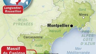 Pyrénées Orientales - localisation