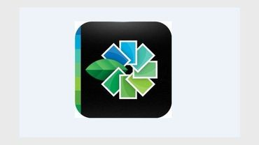 Le logo de l'application Snapseed