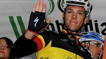 Philippe Gilbert accusé de dopage chez Lotto