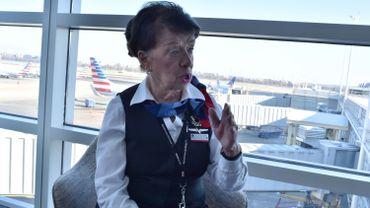 A 81 ans, Bette Nash est toujours hôtesse de l'air pour American Airlines.