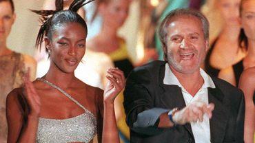 Gianni Versace en 1997
