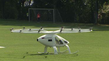 Volocopter: l'expérience du drone taxi