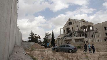 Logement détruits à Jerusalem est
