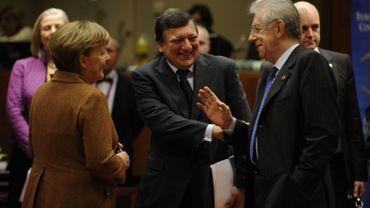 Au deuxième jour du sommet de Bruxelles, 25 parmi les 27 Etats membres ont signé le traité de discipline budgétaire
