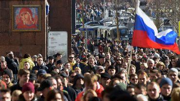 Au moins 130 interpellations à Moscou à la manifestation anticorruption