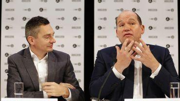 Le Premier échevin Benoît Hellings et le bourgmestre Philippe Close