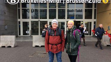 Tim et Margaux font leur maraude sur leur zone: Bruxelles-midi