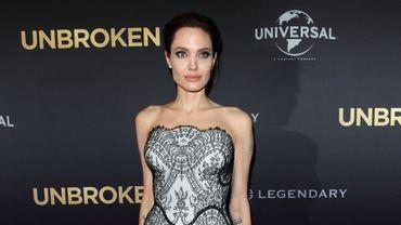 """Angelina Jolie lors de la première d'""""Invincible"""" à Sidney (Australie)"""