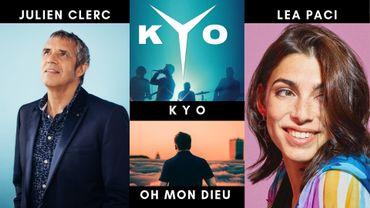 À l'affiche, le public retrouvera Julien Clerc, le groupe Kyo, Oh Mon Dieu (Nicolas Dieu) et Léa Paci.