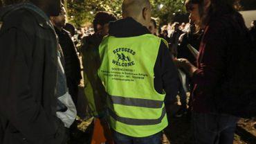 """""""Refugees Welcome"""", plateforme citoyenne de soutien aux migrants."""