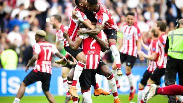 Le PSV écarte l'Ajax et décroche son 24e titre en Eredivisie
