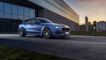 Novitec améliore le Maserati Levante